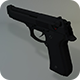 Low Poly Beretta M9 - 3DOcean Item for Sale