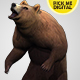 Bear Standing Up 01 - VideoHive Item for Sale