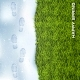 Spring Green Grass and Snow - GraphicRiver Item for Sale