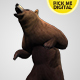 Bear Standing Up 02 - VideoHive Item for Sale