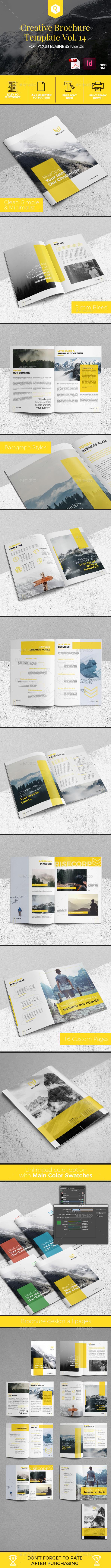 Creative Brochure Template Vol. 14 - Corporate Brochures