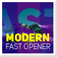 Modern Fast Opener - VideoHive Item for Sale