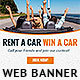 Car Rental Web Banner Ad - GraphicRiver Item for Sale