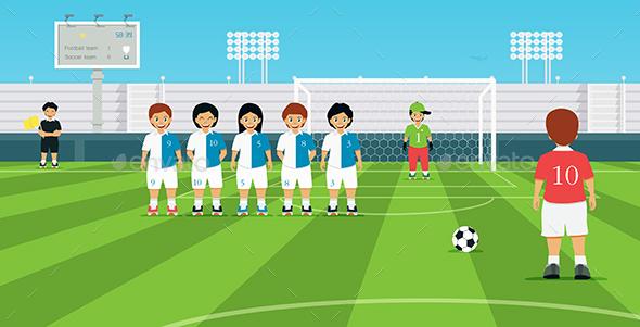 Football Player - Sports/Activity Conceptual