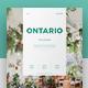 Ontario Magazine - GraphicRiver Item for Sale