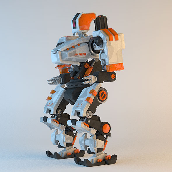 Robot Transformer - 3DOcean Item for Sale
