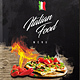 Italian Food Menu - A4 and US Letter - GraphicRiver Item for Sale