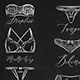 Set Underwear Icons