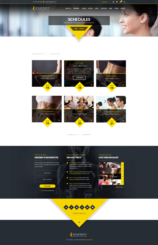 ENERGY - Responsive WordPress Fitness Theme by Micro_Themes ...