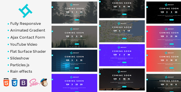 Insight – Coming Soon Template