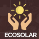 EcoSolar - Nonprofit Environment Recyling Solar HTML5 Template - ThemeForest Item for Sale
