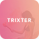 Trixter - One Page Psd Template