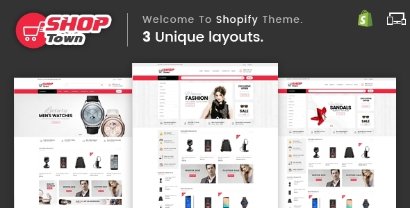 Image of Shop Town - Sectioned Multipurpose Shopify Theme