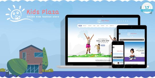 Kids Plaza - Baby, Child Care Responsive Prestashop 1.7 Theme