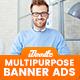 Multipurpose, Business, Corporate Banner Ad