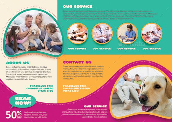pet care brochure by monggokerso