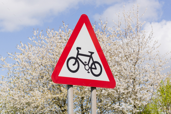 Cycling Route  - Stock Photo - Images