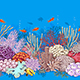 Coral Reef and Fishes Pattern - GraphicRiver Item for Sale