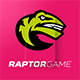 Raptorgame Logo - GraphicRiver Item for Sale