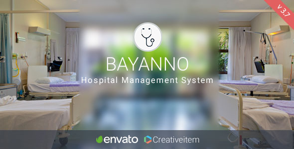Bayanno Hospital Management System - CodeCanyon Item for Sale