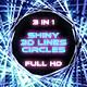 Shiny 3d Lines Circle