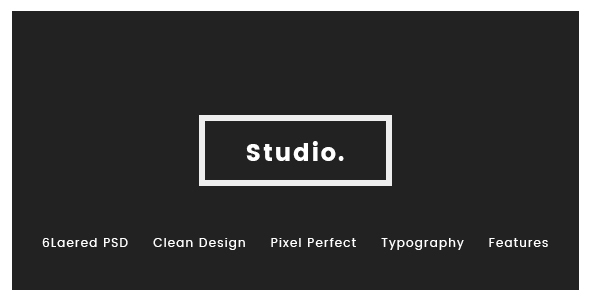 RDStudio PSD Template