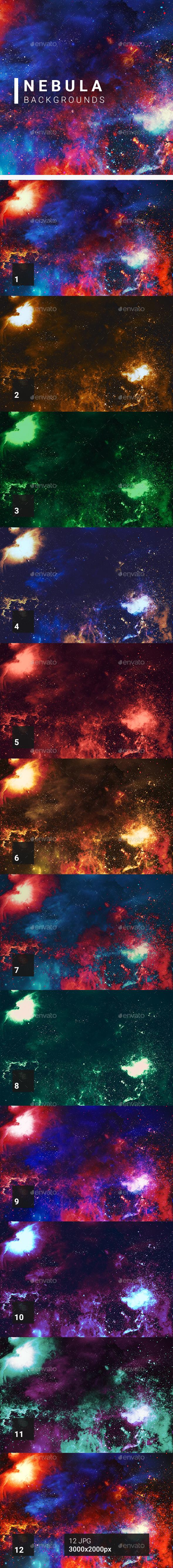 Nebula Backgrounds - Abstract Backgrounds