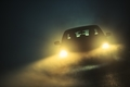 Car Driving in the Fog - PhotoDune Item for Sale