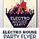 Electro House Party Flyer Nulled