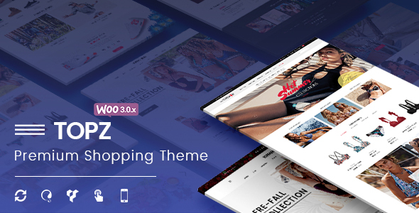 TopZ – Responsive WooCommerce WordPress Theme