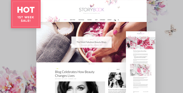Storybook – Modern Blog & Shop Theme