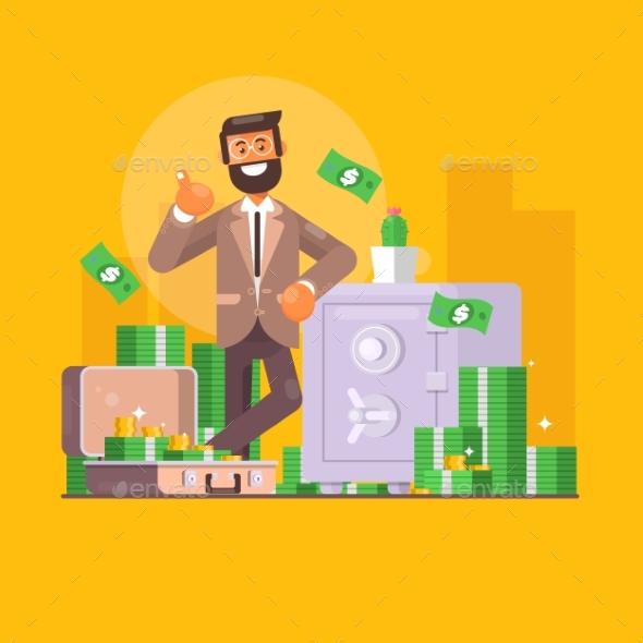 Saving Money - Concepts Business