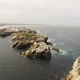 Aerial View of Island Baleal Naer Peniche on the Shore of the Ocean in West Coast of Portugal - VideoHive Item for Sale