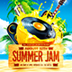 Summer Jam Party Flyer vol.3 - GraphicRiver Item for Sale