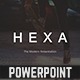 Hexa Powerpoint Template - GraphicRiver Item for Sale