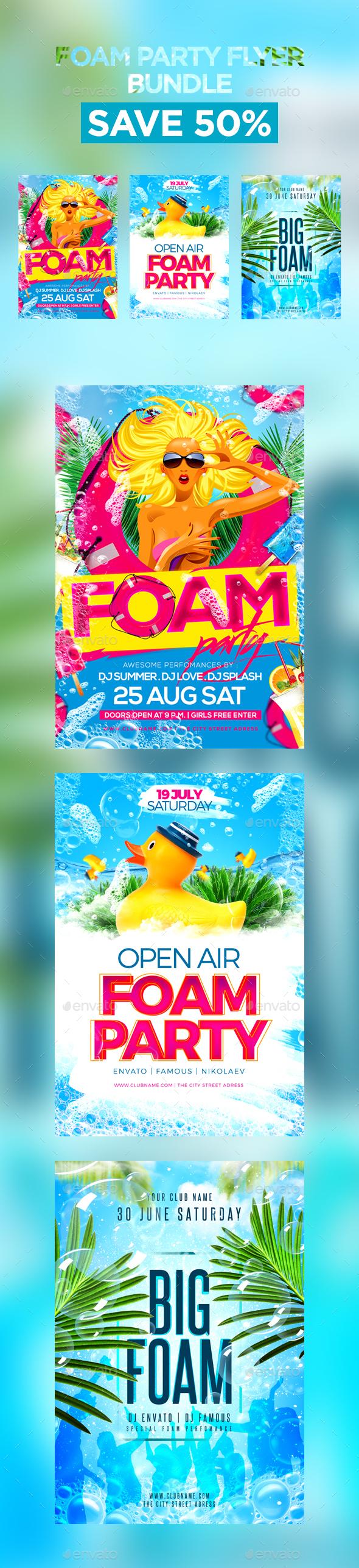 Foam Party Bundle - Clubs & Parties Events