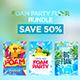 Foam Party Bundle - GraphicRiver Item for Sale