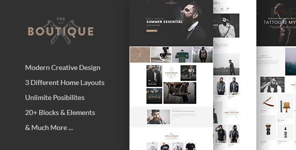 Boutique – Multipurpose eCommerce Template