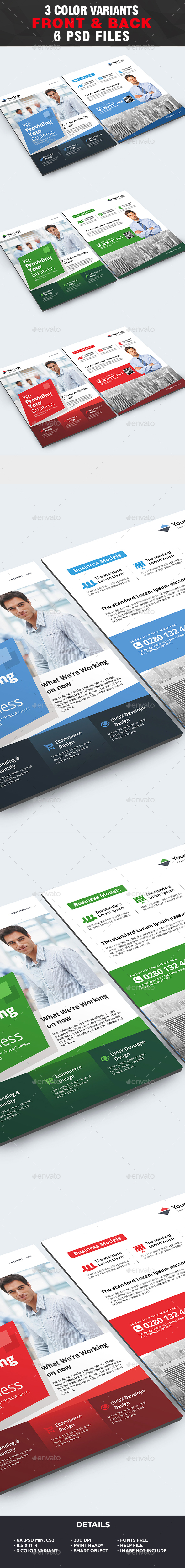 Corporate Flyer Template - Business Flyer Template - Corporate Flyers