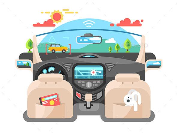 Car Autopilot Computer System - Computers Technology