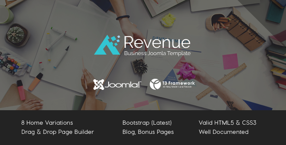 Revenue - Business Joomla Template - Business Corporate