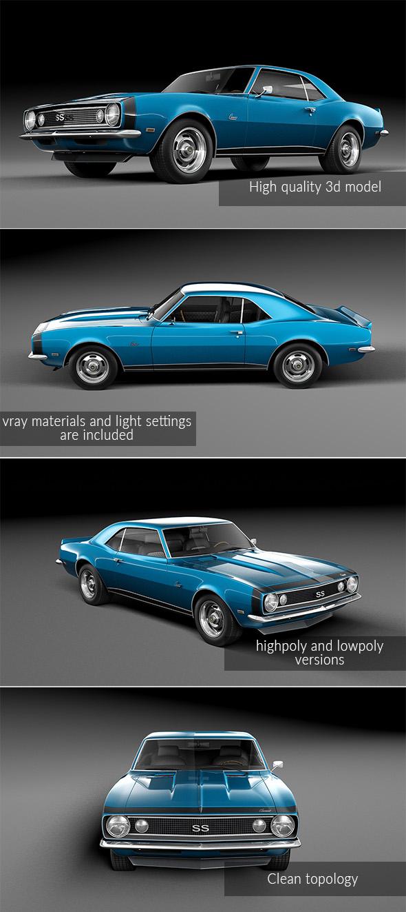 Chevrolet Camaro 1967 - 3DOcean Item for Sale
