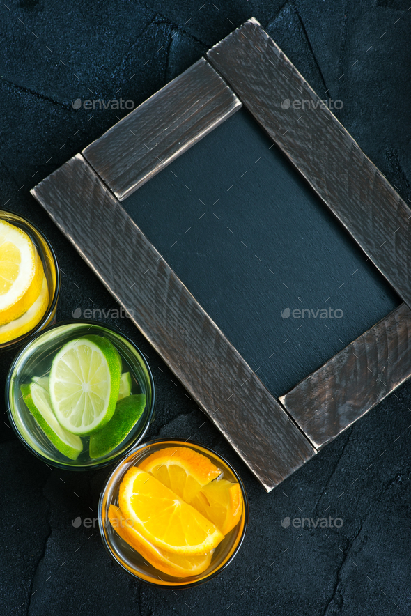 detox drink - Stock Photo - Images