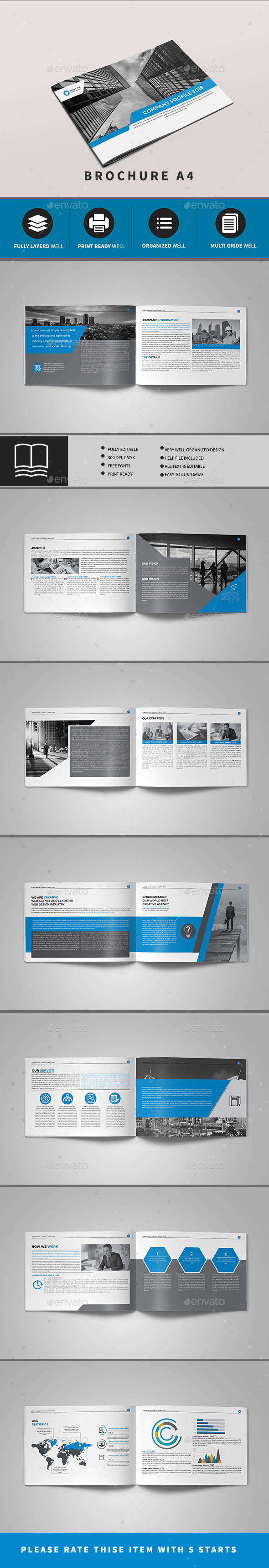 Corporate Brochure 16 PAGE - Brochures Print Templates
