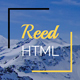 Reed - Minimal Personal Portfolio - ThemeForest Item for Sale
