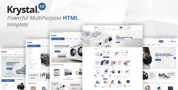 Krystal – Multipurpose HTML Template