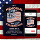 Memorial Day Flyer & Instagram Post - GraphicRiver Item for Sale