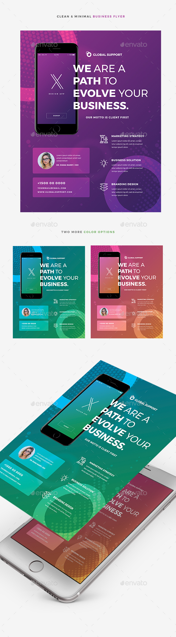 Creative Colorful Business Flyer - Corporate Flyers