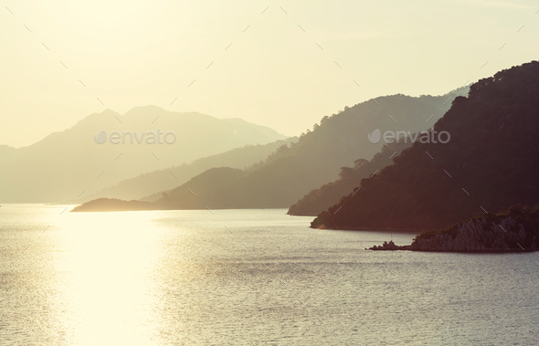 Turkey coast - Stock Photo - Images