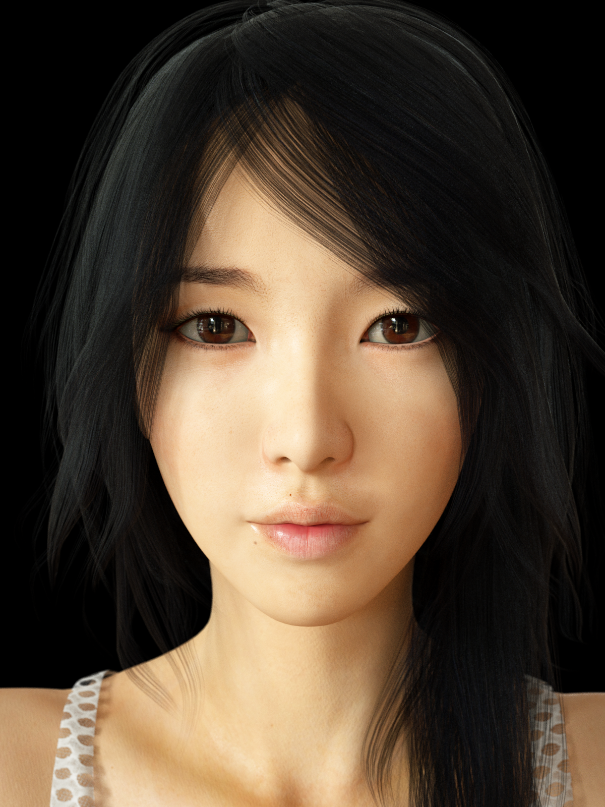 Realistic Asian Beauty By Hatred123